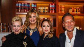 Raquel Bessudo, Alejandra del Río, Lineth Javier y Salvador Serboni